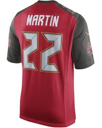 Lyst - Nike Nfl Tampa Bay Buccaneers (doug Martin) Men s Football ... 202f8f29f