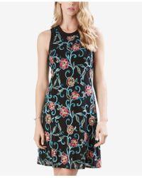 Karen Kane - Embroidered Pullover Dress - Lyst