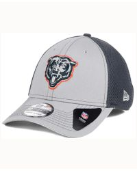 buy popular 8fea9 d78eb KTZ - Chicago Bears Grayed Out Neo 39thirty Cap - Lyst