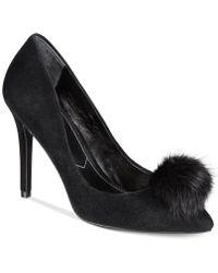 Charles David - Pixie Pom-pom Court Shoes - Lyst