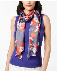 Vince Camuto - Textile Flower Scarf - Lyst