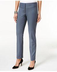 Alfani - Slim Straight-leg Pants - Lyst