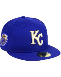 size 40 7c92b d036c KTZ Kansas City Royals Jersey Custom 59fifty Fitted Cap in Blue for Men -  Lyst
