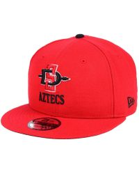 reputable site 41c36 e42bc KTZ San Diego Padres Matte Metal 59fifty Cap in Black for Men - Lyst