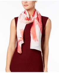 Vince Camuto - Leafy Dream Oblong Scarf - Lyst