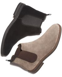 Alfani - Dustin Suede Chelsea Boots, Created For Macy's - Lyst