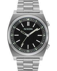 Nixon Brigade Stainless Steel Bracelet Watch 40mm