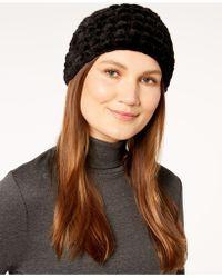 Calvin Klein - Faux-fur Headband - Lyst