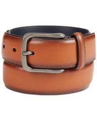 Original Penguin - Burnished Bird Leather Belt - Lyst