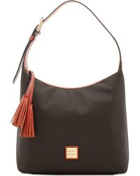 Dooney & Bourke - Patterson Leather Paige Pebble Leather Shoulder Bag - Lyst