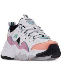 Skechers - D'lite Chunky Sneakers 3.0 In Pastel - Lyst