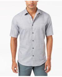 Alfani - Men's Layton Fine Striped Shirt - Lyst