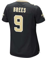 3e6068e12 Lyst - Nike Babies  Drew Brees New Orleans Saints Game Jersey in Black