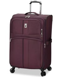 "London Fog - Langley 25"" Expandable Spinner Suitcase - Lyst"