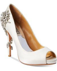 Badgley Mischka - Royal Evening Pumps - Lyst