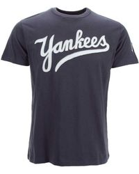47 Brand - Men's New York Yankees Fieldhouse T-shirt - Lyst