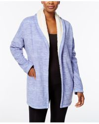 Hue | ® Illusion Cozy Open-front Robe | Lyst