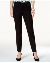 Alfani - Zip-pocket Skinny Pants - Lyst