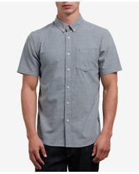 Volcom - Everett Oxford Shirt - Lyst