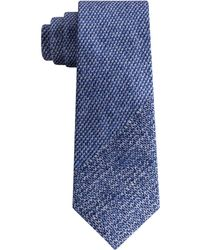 DKNY - Photo Realistic Panel Print Silk Slim Tie - Lyst