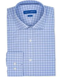 Vince Camuto - Slim-fit Comfort Stretch Check Dress Shirt - Lyst
