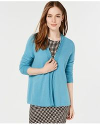 Charter Club - Pure Cashmere 3/4 Sleeve Completer Sweater In Regular & Petite Sizes, Created For Macy's - Lyst