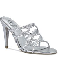 Adrianna Papell - Emma Evening Sandals - Lyst