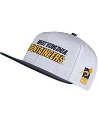 best service 67580 c788f Nike West Virginia Mountaineers Classic 99 Swoosh Flex Cap in Yellow for  Men - Lyst