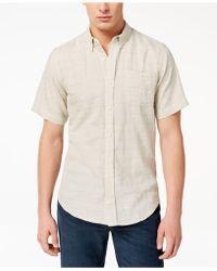 Ezekiel - Railed Woven Shirt - Lyst