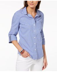 Tommy Hilfiger - Cotton Printed Utility Shirt, Created For Macy's - Lyst