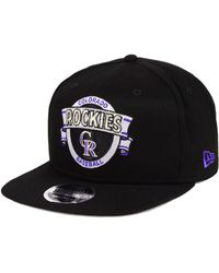 best website b897f 61f78 KTZ - Colorado Rockies Banner 9fifty Snapback Cap - Lyst