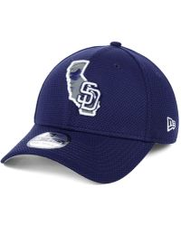 on sale c03ca 88d3e KTZ - San Diego Padres State Flective 2.0 39thirty Cap - Lyst