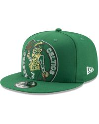 74815c8e3e15e adidas Boston Celtics Nba Zone Mesh Cap in Green for Men - Lyst