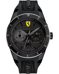 Ferrari - Men's Redrev T Black Silicone Strap Watch 44mm 830259 - Lyst