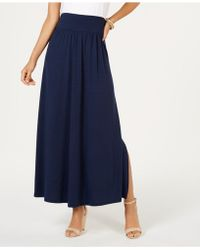 Style & Co. - Side-slit Maxi Skirt, Created For Macy's - Lyst