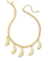 """INC International Concepts - I.n.c. Gold-tone Watermelon Statement Necklace, 18"""" + 3"""" Extender, Created For Macy's - Lyst"""