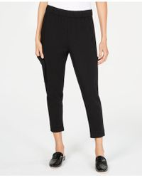 Eileen Fisher - ® Slouchy Cropped Pants, Regular & Petite - Lyst