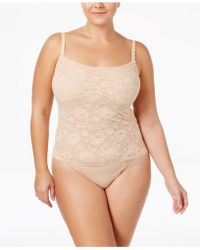 Cosabella - Never Say Never Plus Size Lace Camisole Never1811p - Lyst
