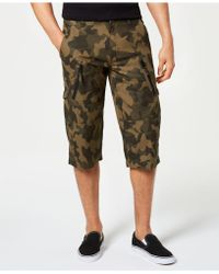 INC International Concepts - Camo Messenger Shorts, Created For Macy's - Lyst