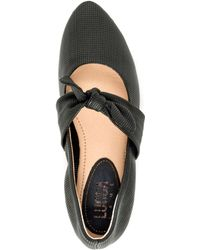 Lucca Lane - Ursula Perforated Flats - Lyst
