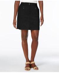Karen Scott - Petite A-line Skort, Created For Macy's - Lyst
