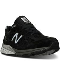 New Balance - Men's 990 V4 Running Sneakers From Finish Line - Lyst