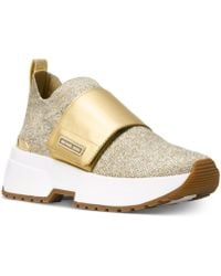 Michael Kors - Michael Cosmo Knit Slip-on Trainers - Lyst