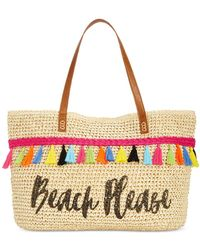INC International Concepts | Arriana Beach Please Extra-large Tote | Lyst