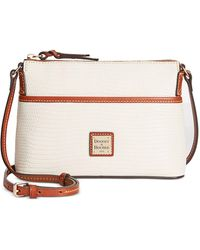 Dooney & Bourke - Lizard-embossed Ginger Crossbody - Lyst