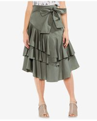 Vince Camuto - Ruffled A-line Skirt - Lyst