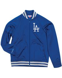 Mitchell & Ness - Los Angeles Dodgers Top Prospect Track Jacket - Lyst
