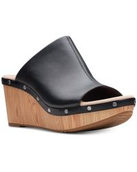 Clarks - Annadel Molly Wedge Sandals - Lyst