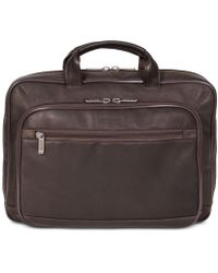 "Kenneth Cole Reaction - Point Of De-port-ure Columbian Leather 16"" Computer Portfolio - Lyst"