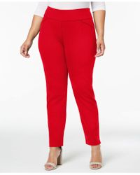 Charter Club - Plus Size Ponté-knit Trousers, Created For Macy's - Lyst